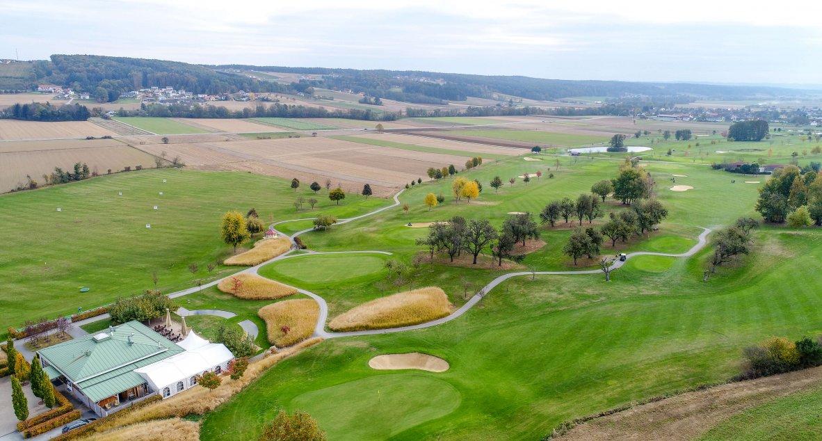 Der schöne Golfplatz in Bad Waltersdorf