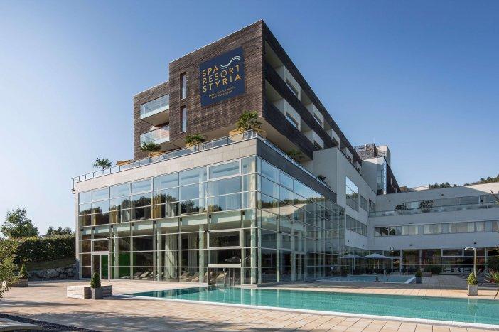 Außenansicht des Spa Resort Styria