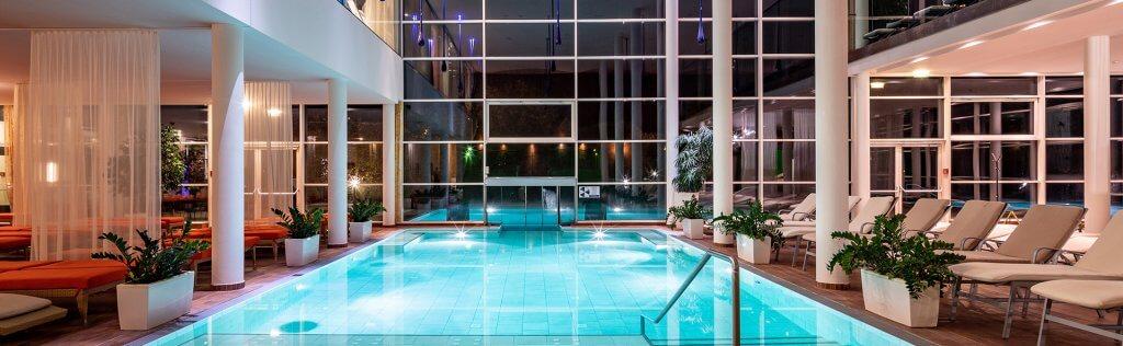 Indoor pool spa resort styria