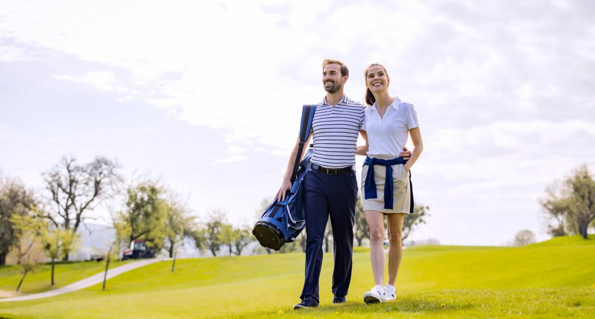 Golfurlaub als Paar in Bad Waltersdorf